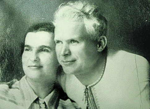 Олександр Довженко з дружиною Юлією Солнцевою