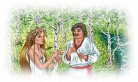 Фанфік до драми-феєрії Лесі Українки «Лісова пісня»